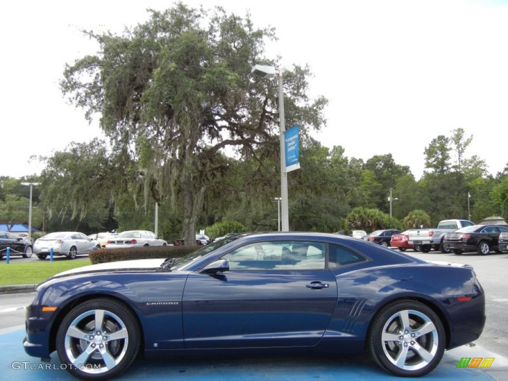 Imperial Blue Metallic 2010 Chevrolet Camaro Ss Rs Coupe