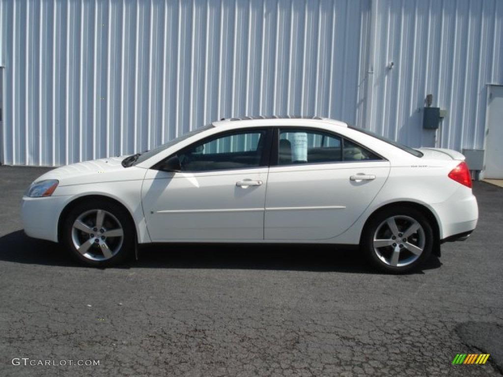 2007 Ivory White Pontiac G6 Gtp Sedan 69998180 Gtcarlot
