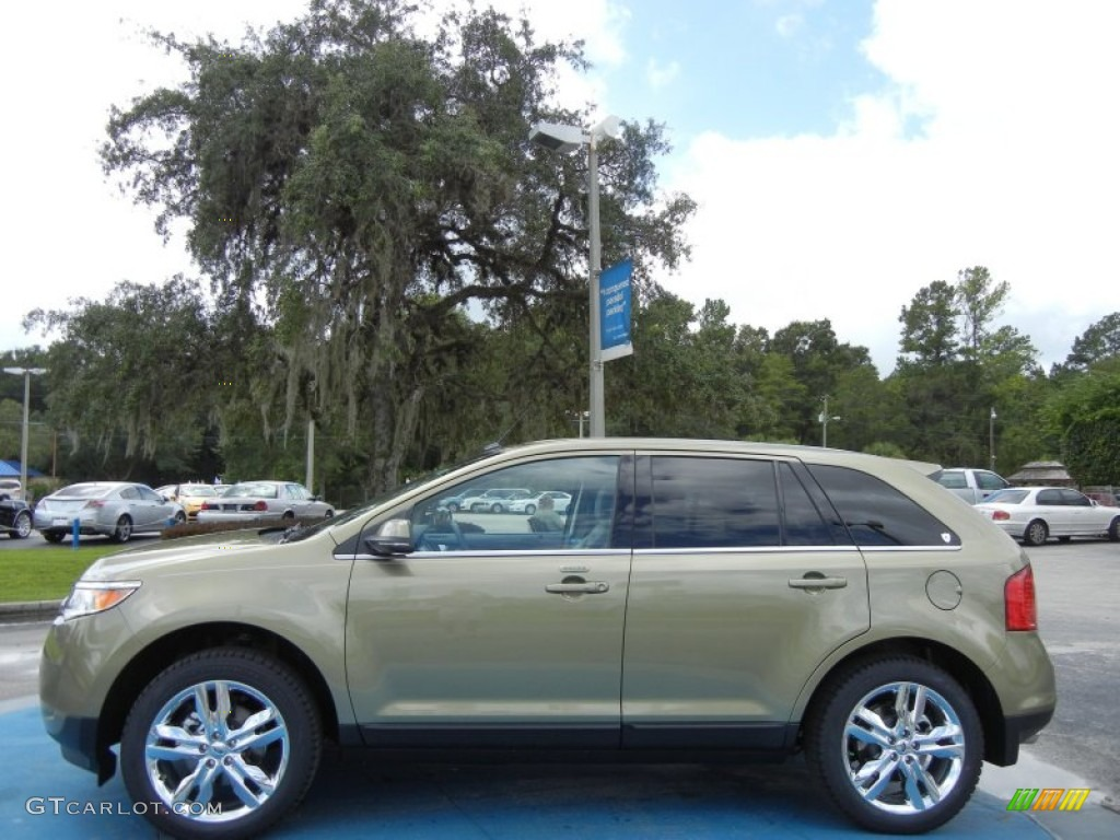 Ginger ale metallic 2013 ford edge limited exterior photo 69999655