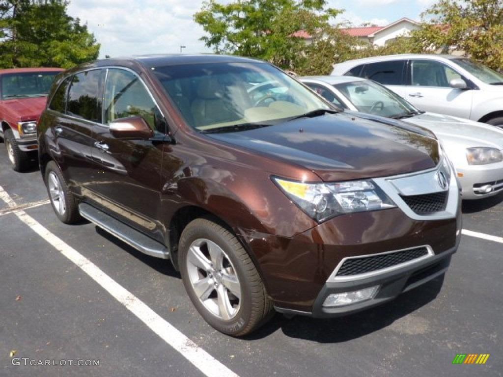 All Types 2010 mdx : 2010 Ionized Bronze Metallic Acura MDX Technology #69998173 ...