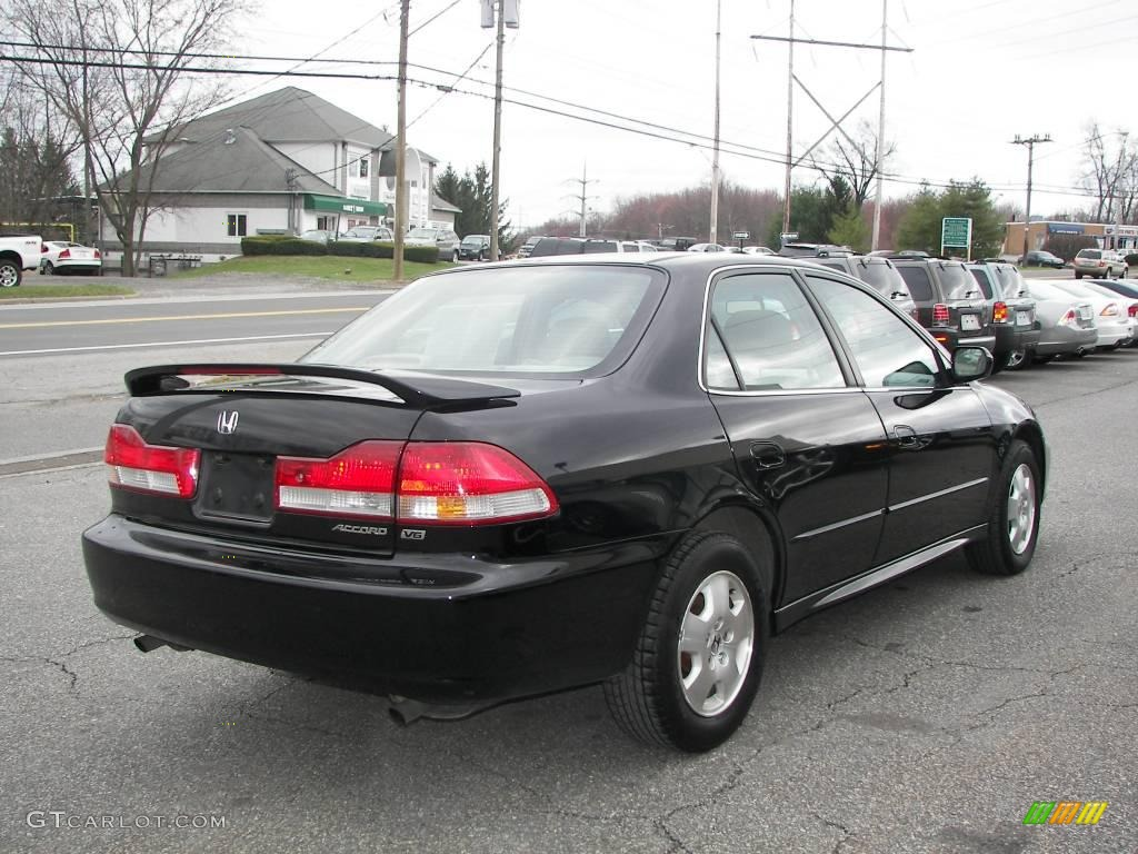 2001 nighthawk black pearl honda accord ex v6 sedan 6962041 photo 3 car color. Black Bedroom Furniture Sets. Home Design Ideas