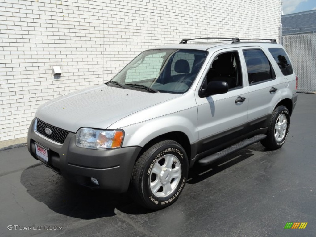 satin silver metallic 2003 ford escape xlt v6 4wd exterior. Black Bedroom Furniture Sets. Home Design Ideas