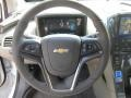 Jet Black/Ceramic White Accents Steering Wheel Photo for 2013 Chevrolet Volt #70008723