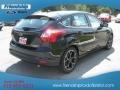 2012 Tuxedo Black Metallic Ford Focus Titanium 5-Door  photo #6