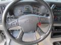 Gray/Dark Charcoal Steering Wheel Photo for 2004 Chevrolet Tahoe #70013774