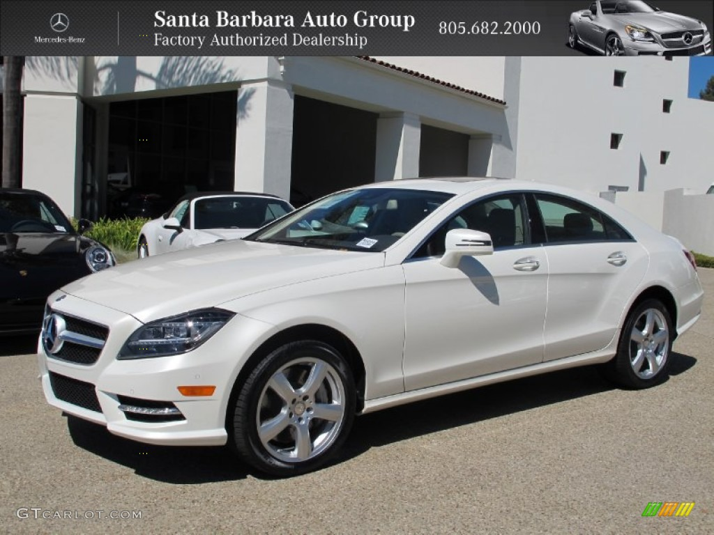 2013 Diamond White Metallic Mercedes Benz Cls 550 Coupe