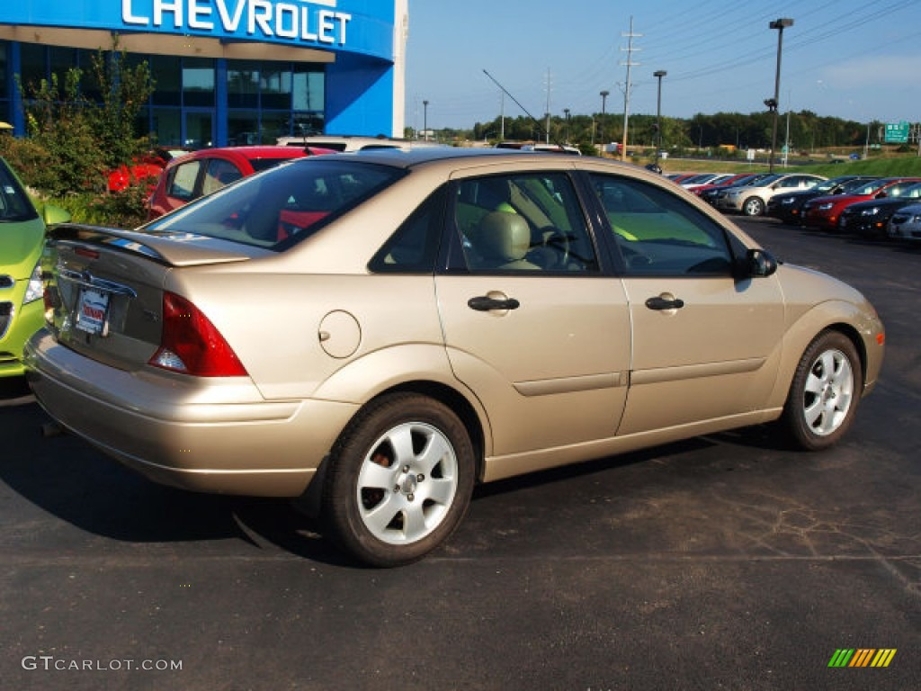 fort knox gold 2002 ford focus zts sedan exterior photo. Black Bedroom Furniture Sets. Home Design Ideas
