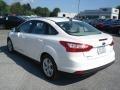 2012 White Platinum Tricoat Metallic Ford Focus SEL Sedan  photo #6