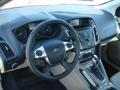 2012 White Platinum Tricoat Metallic Ford Focus SEL Sedan  photo #10