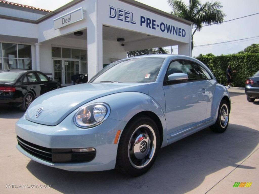 Denim Blue Volkswagen Beetle