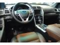 Pecan/Charcoal Dashboard Photo for 2011 Ford Explorer #70045955