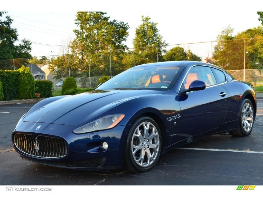 Maserati granturismo blue - photo#1