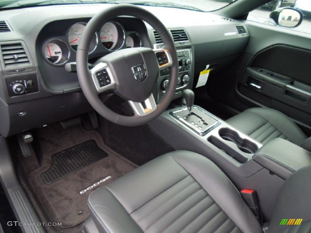 2013 dodge challenger interior. dark slate gray interior 2013 dodge challenger rt photo 70075760 e