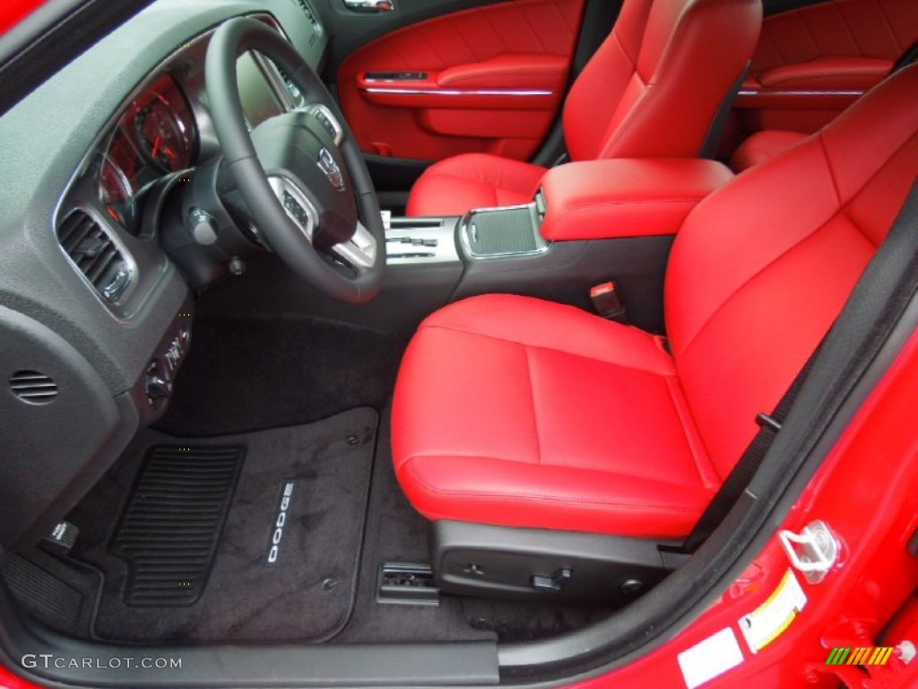 black red interior 2013 dodge charger r t photo 70075988