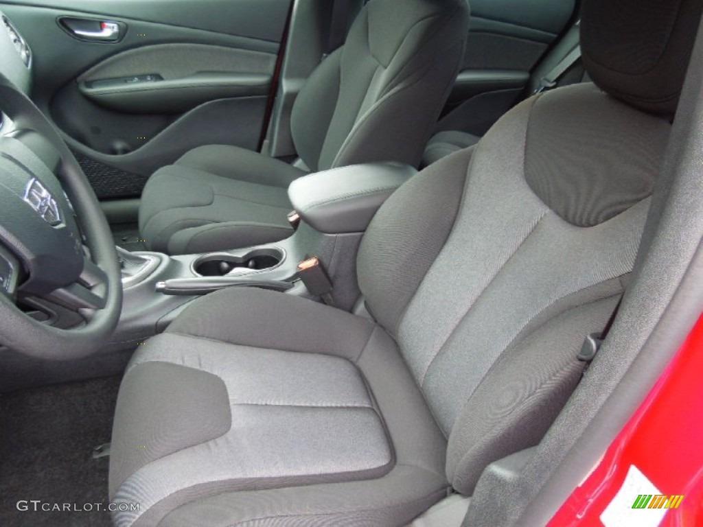 Black Interior 2013 Dodge Dart Se Photo 70076159
