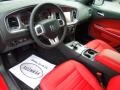 Black/Red 2013 Dodge Charger Interiors