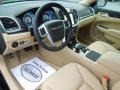 Black/Light Frost Beige 2013 Chrysler 300 Interiors