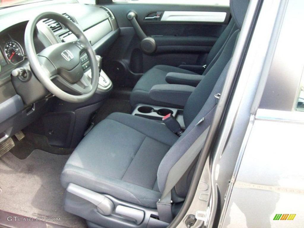 2011 CR-V LX 4WD - Polished Metal Metallic / Black photo #18