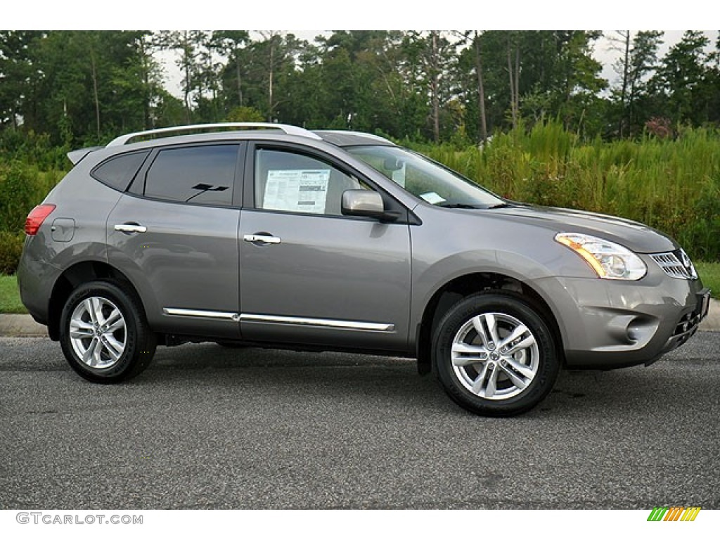 Platinum Graphite 2013 Nissan Rogue SV Exterior Photo #70084553