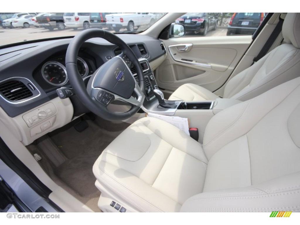 Soft Beige Interior 2013 Volvo S60 T5 AWD Photo 70093632