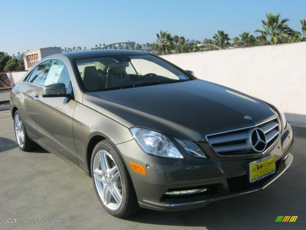 2013 olivine grey metallic mercedes benz e 350 coupe for Mercedes benz color