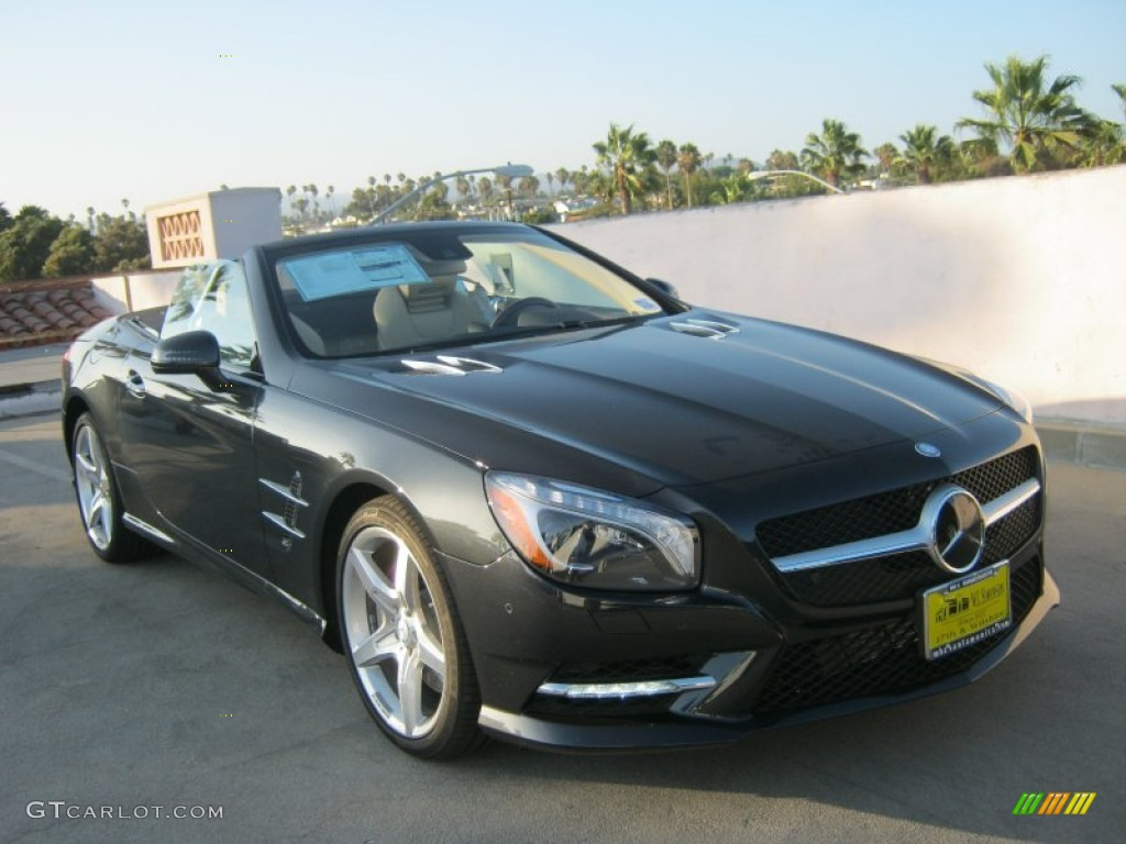 2013 magnetite black metallic mercedes benz sl 550 for Mercedes benz color