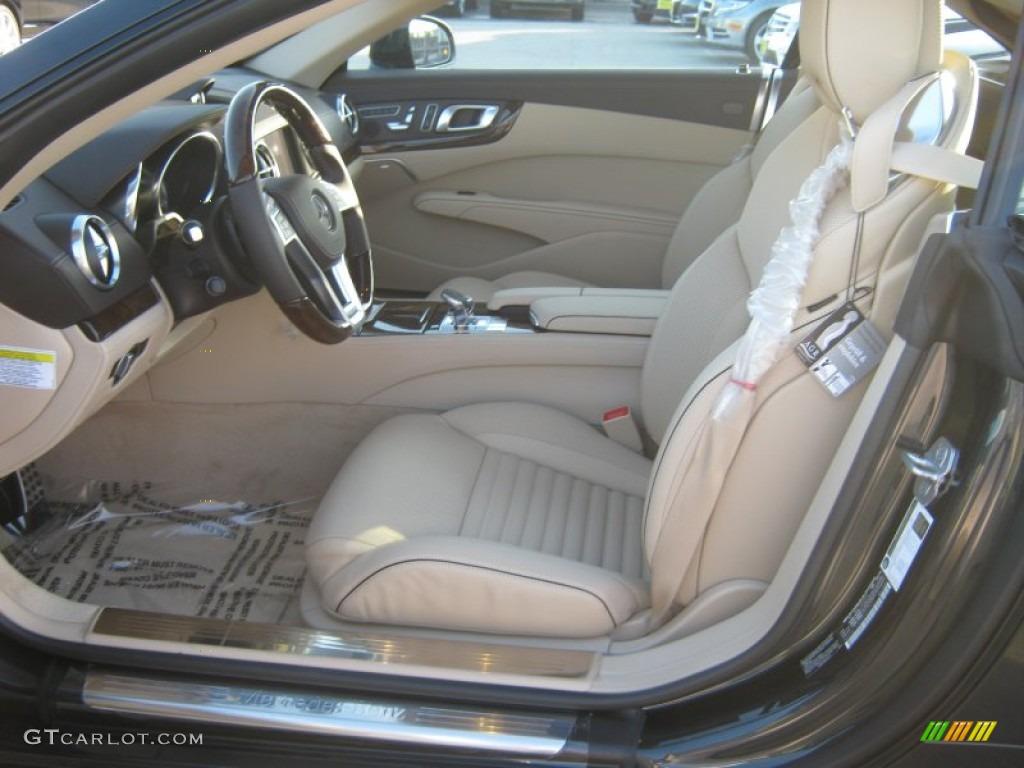Beige Brown Interior 2013 Mercedes Benz Sl 550 Roadster Photo 70094424