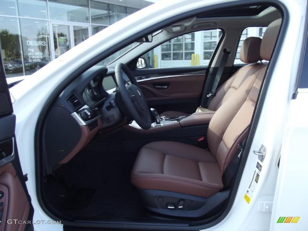 Cinnamon Brown Interior 2013 Bmw 5 Series 535i Sedan Photo 70095117