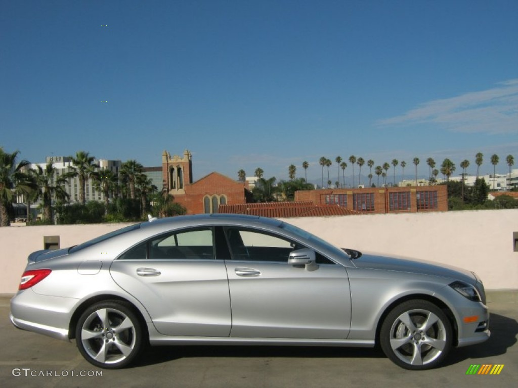 Iridium silver metallic 2013 mercedes benz cls 550 coupe for Cls home