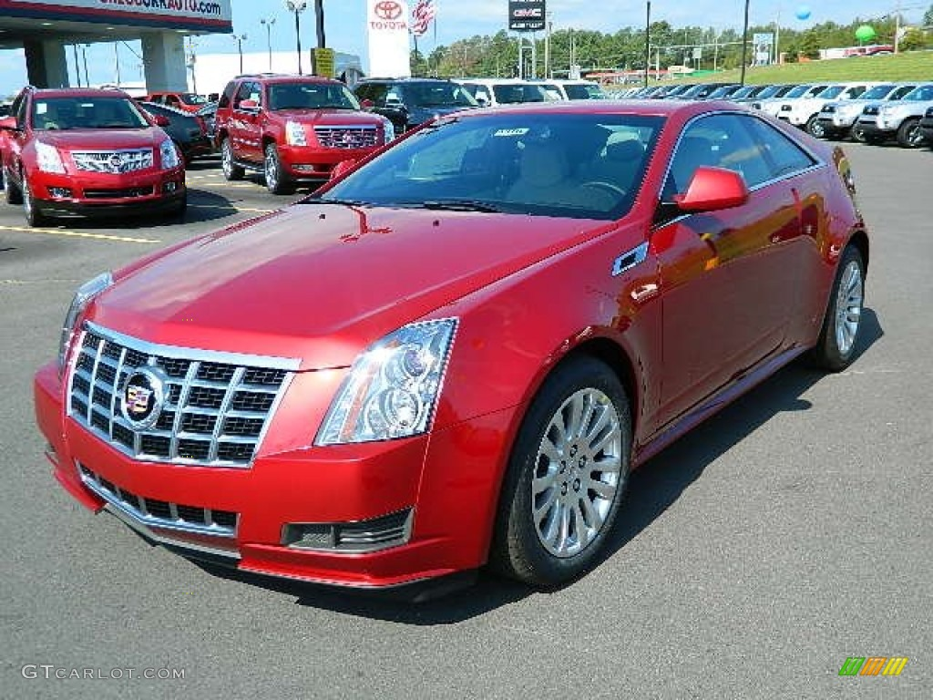 2013 Crystal Red Tintcoat Cadillac Cts Coupe 70081430 Photo 7 Gtcarlot Com Car Color Galleries