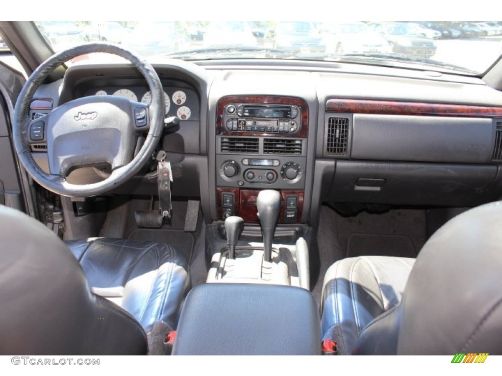 2001 jeep grand cherokee limited 4x4 agate dashboard photo