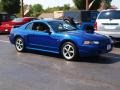 2003 Sonic Blue Metallic Ford Mustang GT Coupe  photo #2