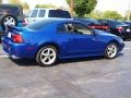 2003 Sonic Blue Metallic Ford Mustang GT Coupe  photo #3