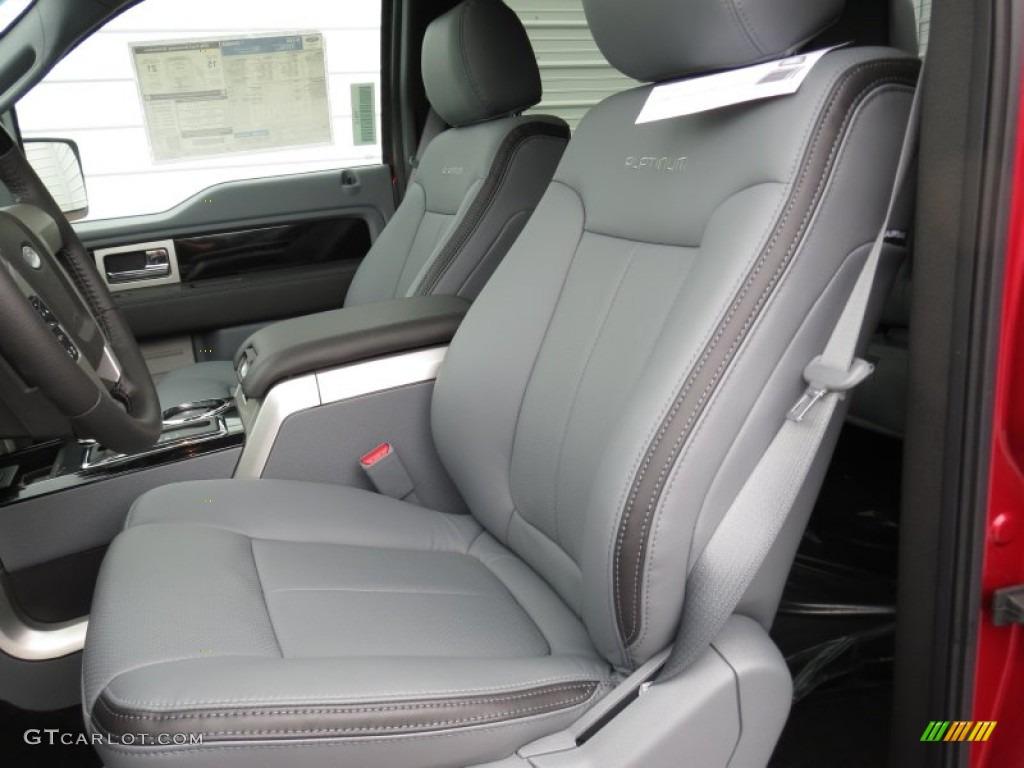 2012 ford f150 platinum supercrew front seat photo. Black Bedroom Furniture Sets. Home Design Ideas