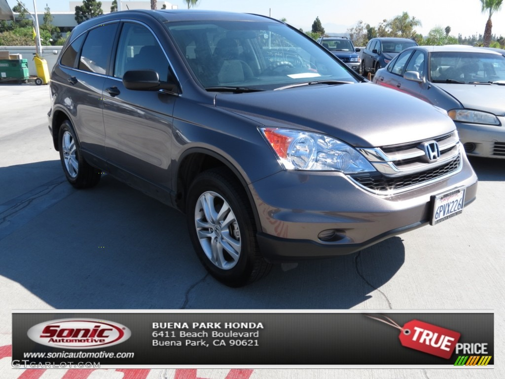 2011 CR-V EX - Urban Titanium Metallic / Black photo #1