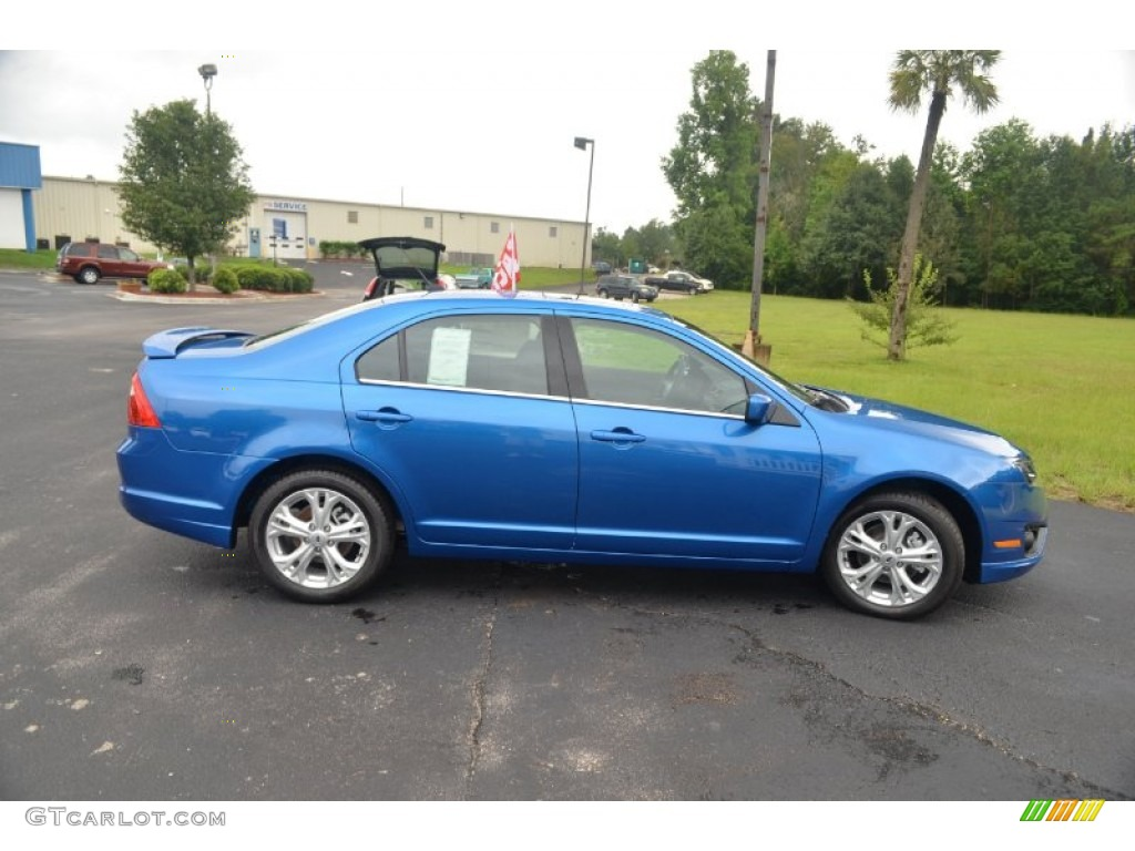 Blue Flame Metallic 2012 Ford Fusion SE Exterior Photo #70128869 ...