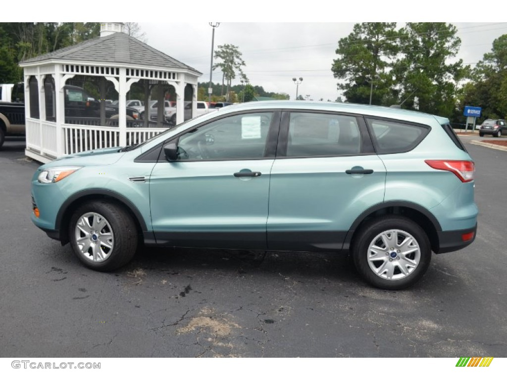 Frosted Glass Metallic 2013 Ford Escape S Exterior Photo