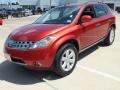 2007 Sunset Red Pearl Metallic Nissan Murano SL  photo #9