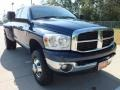 2007 Patriot Blue Pearl Dodge Ram 3500 Lone Star Quad Cab 4x4 Dually #70133636