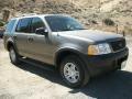 2003 Mineral Grey Metallic Ford Explorer XLS 4x4  photo #1