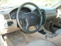 Medium Parchment Beige 2003 Ford Explorer XLS 4x4 Dashboard