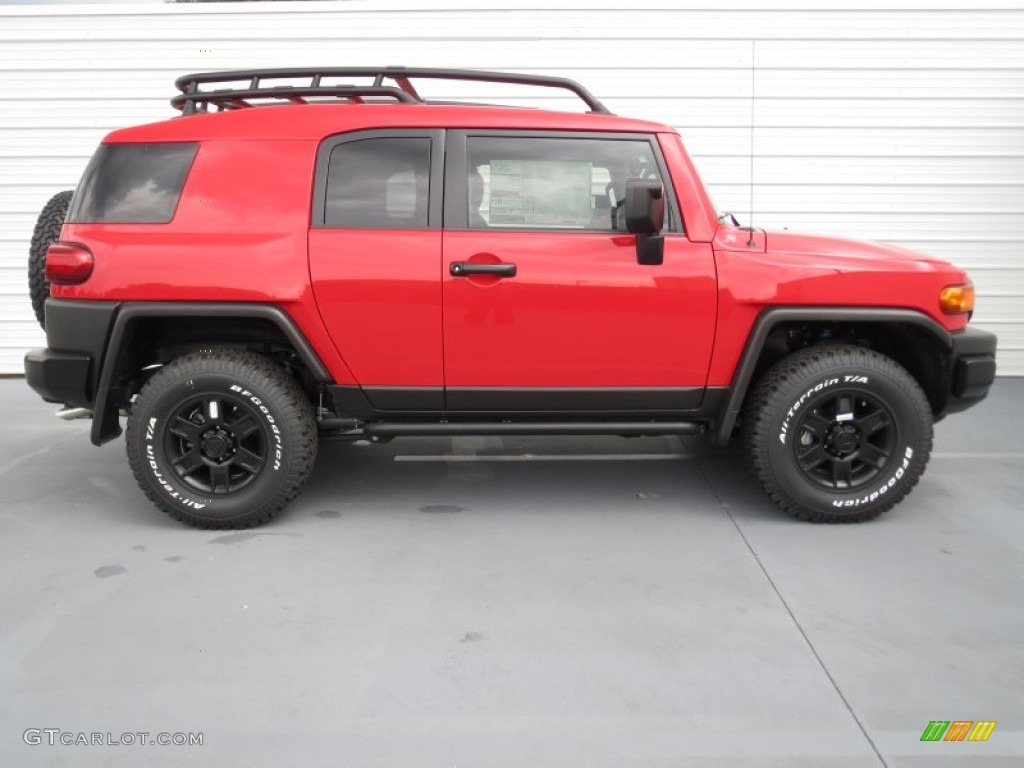Radiant Red 2012 Toyota Fj Cruiser Trail Teams Special