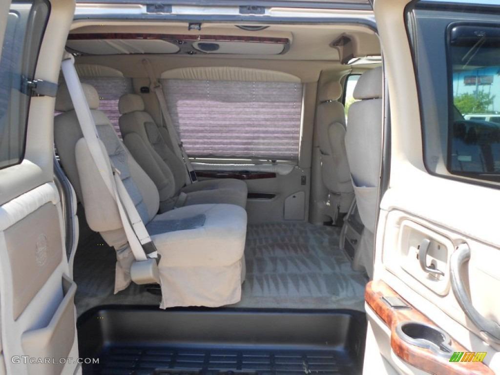 2002 gmc savana van g1500 passenger conversion interior photos