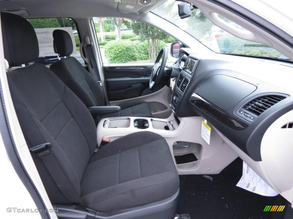 Black Light Graystone Interior 2013 Dodge Grand Caravan Crew Photo 70186310