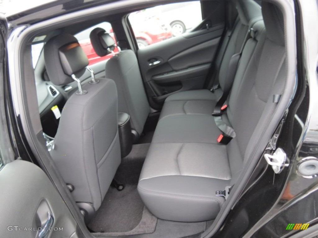 Attractive Black Interior 2013 Dodge Avenger SE Photo #70186811 Nice Design