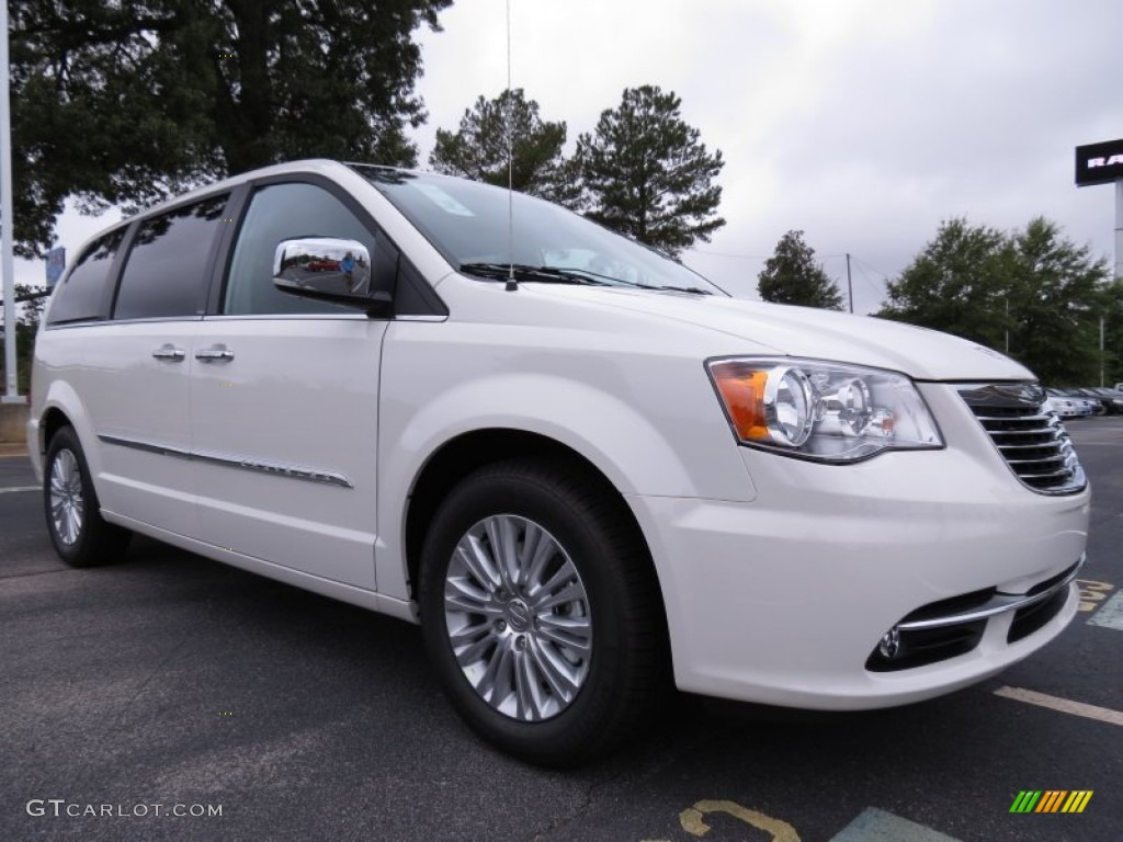 Stone white 2013 chrysler town country touring l for Stone s town country motors