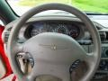 2003 Inferno Red Tinted Pearl Chrysler Sebring LX Convertible  photo #14