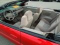 2003 Inferno Red Tinted Pearl Chrysler Sebring LX Convertible  photo #25