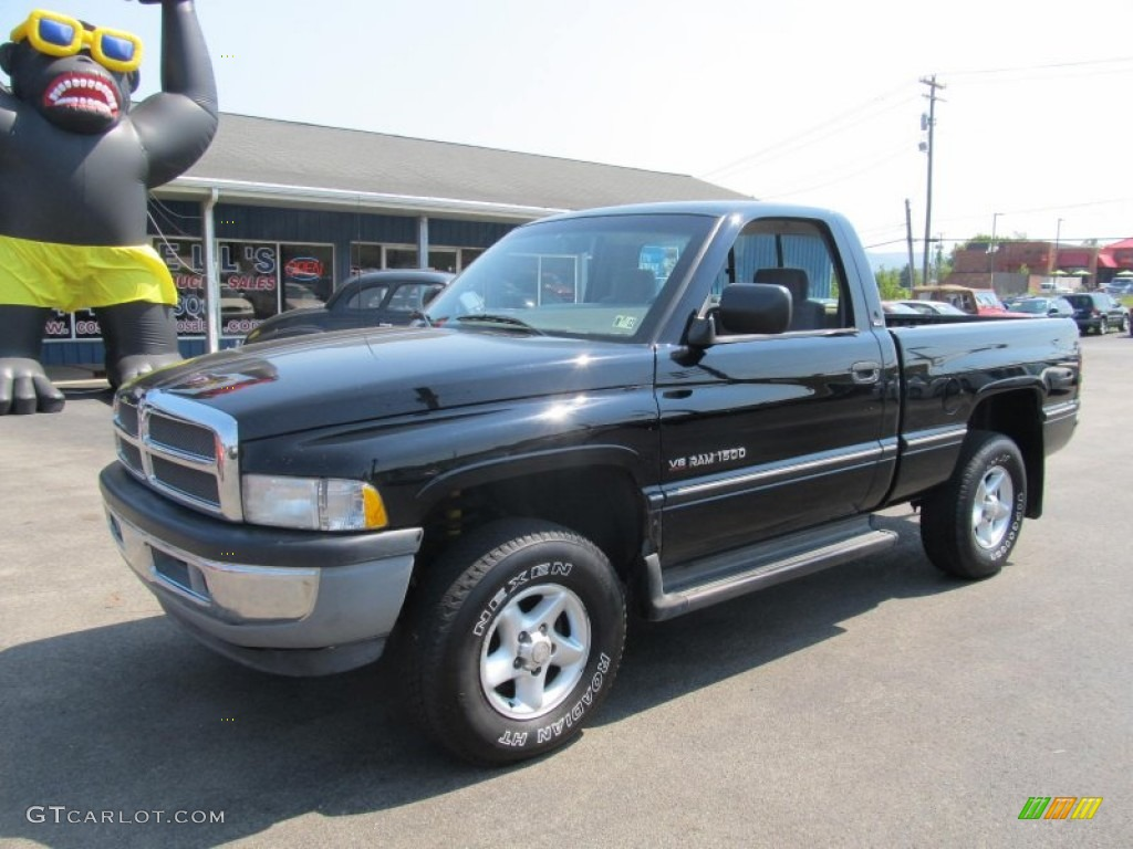 black 1996 dodge ram 1500 lt regular cab 4x4 exterior photo 70204252. Black Bedroom Furniture Sets. Home Design Ideas