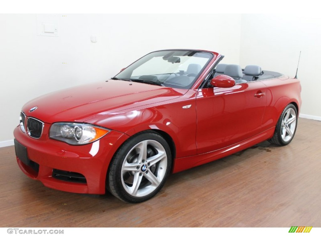 2009 Crimson Red Bmw 1 Series 135i Convertible 70195464 Car Color Galleries
